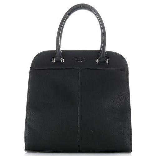 a1cdd57b996f4 eleganckie torebki damskie kuferki czarne marki David jones - galeria  eleganckie torebki damskie kuferki czarne marki