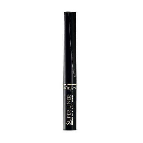 L'oréal paris super liner black lacquer eyeliner wodoodporny odcień black 6 ml