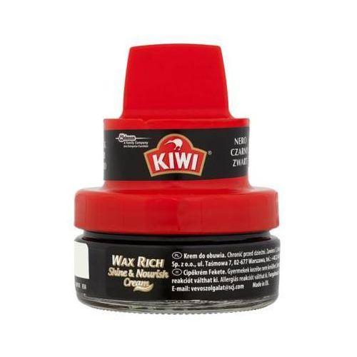 50ml shine and nourish krem do obuwia czarny marki Kiwi