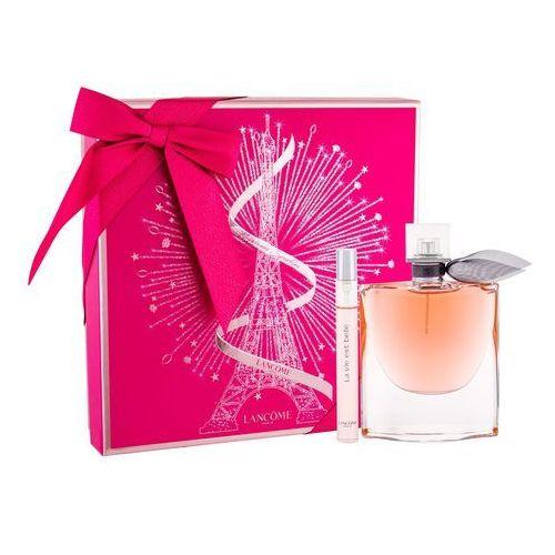 Lancome La Vie Est Belle zestaw Edp 75ml + 10ml Edp dla kobiet (3614271617095)
