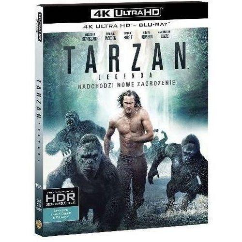 David yates Tarzan: legenda (4k ultra hd) (blu-ray) - darmowa dostawa kiosk ruchu (7321999343606)