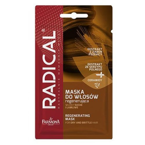 Farmona radical maska do włosów regenerująca włosy suche i łamliwe (20 g.) - Promocja