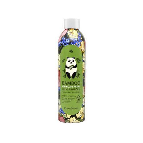 Seantree bamboo charcoal fresh cleansing foam (w) pianka do mycia twarzy 250ml