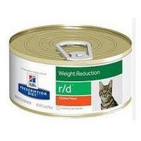 Hills prescription diet Hills r/d kawałki puszka 156 g feline