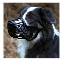 Trixie Kaganiec plastikowy dla psa rozmiar 3 (M) czarny [17603] (4011905176031)