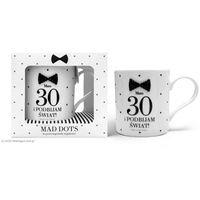 Kubek Mad Dots na 30 urodziny