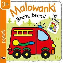 Awm agencja wydawnicza Malowanki 4 pojazdy - piotr kozera