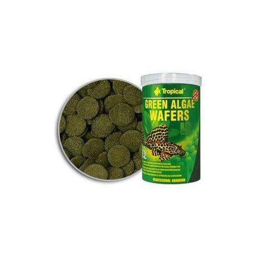 green algae wafers pokarm w formie wafelków dla glonojadów ze spiruliną 5l/2,25kg marki Tropical