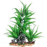 plastic plant in gravel bed. 28 cm akwarium - darmowa dostawa od 95 zł! marki Trixie