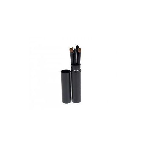 Pędzle Do Make Up Komplet 5 Szt. Pakowane W Tubę Kolor Czarny