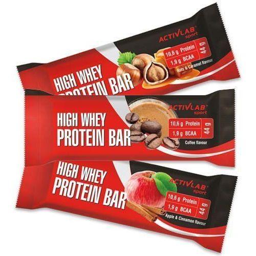 Activlab baton high whey action protein bar 44g - apple cinamon