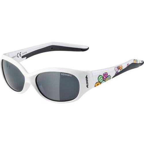 Nowe okulary przeciwsłoneczne flexxy junior white flower marki Alpina