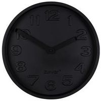 Zuiver zegar betonowy time all czarny 8500056