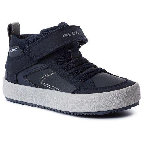 Geox Sneakersy - j alonisso b. n j942cn 0fuau c0661 m navy/grey