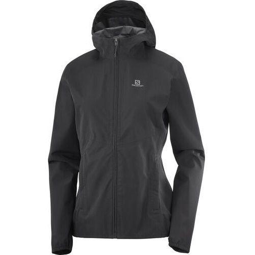 Salomon Sntial WP 2.5L Jacket Women, czarny L 2021 Kurtki Softshell, 1 rozmiar
