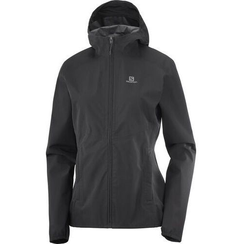 Salomon Sntial WP 2.5L Jacket Women, czarny XS 2021 Kurtki Softshell