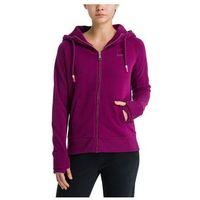 bluza BENCH - Her. Zip Through Sweat Hoody Plum Caspia (PU11461) rozmiar: S