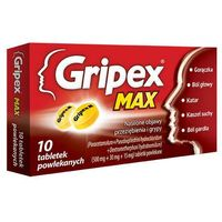 Tabletki GRIPEX Max x 10 tabletek