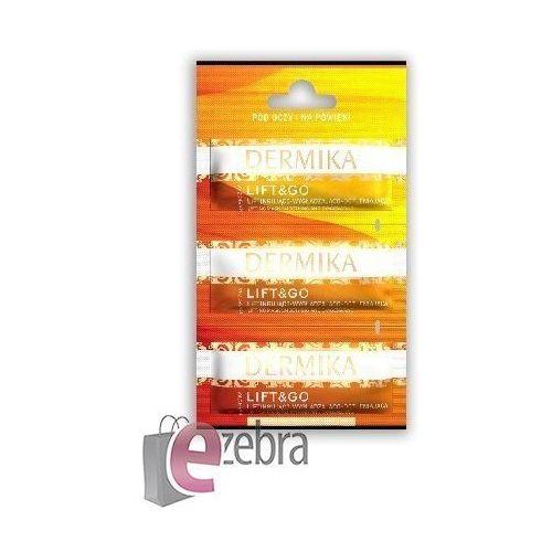 Dermika Maseczki Piękności LIFT&GO - Liftingująca maseczka pod oczy i na powieki 3 x 2 ml - Dermika Sp.z o.o