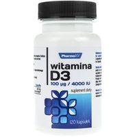 Witamina D3 100 mcg / 4000 IU 120kp Pharmovit (5902811230681)