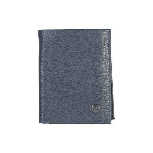 Męski portfel skórzany pu1740x2 niebieski Piquadro