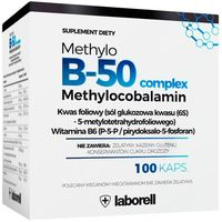 Kapsułki Witamina Methylo B-50 complex x 100 kapsułek