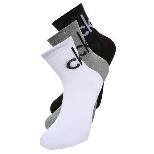 Calvin Klein Underwear 3 PACK Skarpety grey heather/white/black