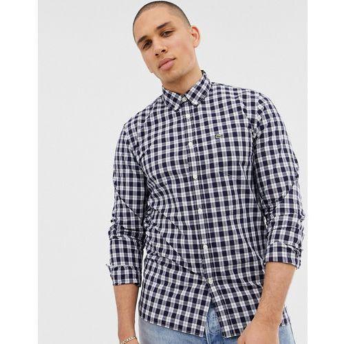 e507da620 Zobacz w sklepie Checked logo shirt - blue Lacoste