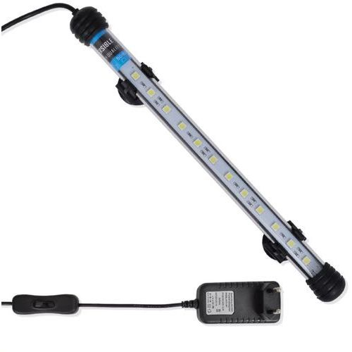 vidaXL Biała lampa LED do akwarium 28 cm (8718475883937)