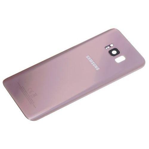 Samsung Oryginalna klapka baterii galaxy s8+ plus g955 rose pink grade a - grade a \ różowy / pink