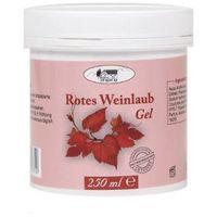 Żel z liści czerwonych winogron 250 ml Rotes Weinlaub Gel