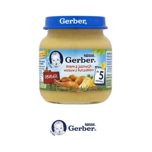 125g obiadek krem z jasnych warzyw z kurczakiem po 5 miesiącu Gerber
