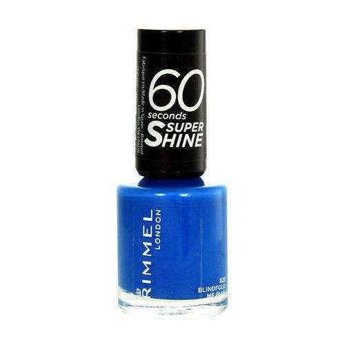Rimmel 60 seconds super shine lakier do paznokci odcień 740 clear 8 ml