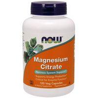 Kapsułki NOW FOODS Magnesium Citrate 400mg - 120 kapsułek