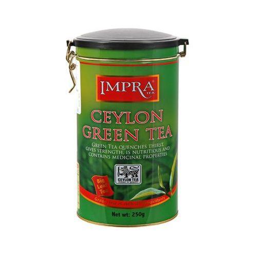 IMPRA TEA 250g Ceylon Green Tea Herbata zielona liściasta puszka