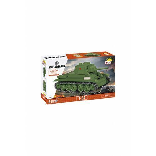 Klocki Cobi CzołgT-34 1Y39EH Oferta ważna tylko do 2031-05-14