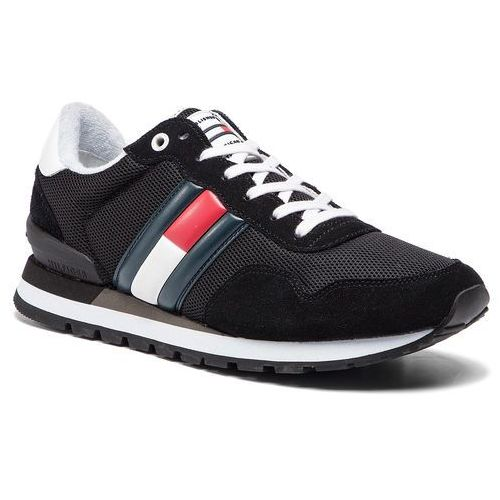 a248a470c64a4 Tommy jeans Sneakersy - casual tommy jeans sneaker em0em00261 black 990