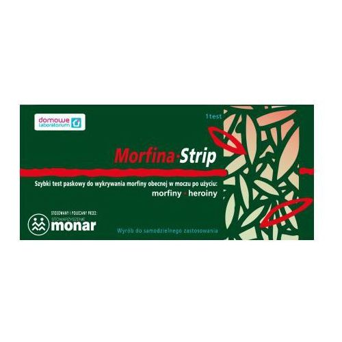 MORFINA test Strip (czułość: 300 ng/ml)