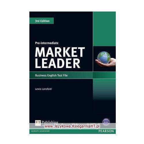 Market Leader 3rd Edition Pre-Intermediate Test File (9781408219904)