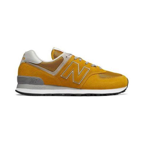 Buty sportowe męskie NEW BALANCE - ML574-06, kolor żółty
