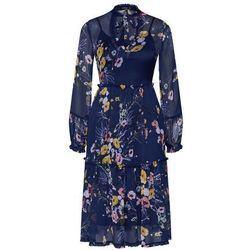 Boohoo sukienka granatowy / mieszane kolory