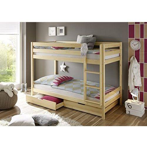 łóżko Dziecięce Piętrowe Z Szufladamimaterace 160x80