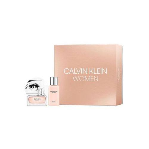 Calvin klein calvin klein women zestaw 100 ml edp 100 ml + mleczko do ciała 100 ml dla kobiet (3614226921734)