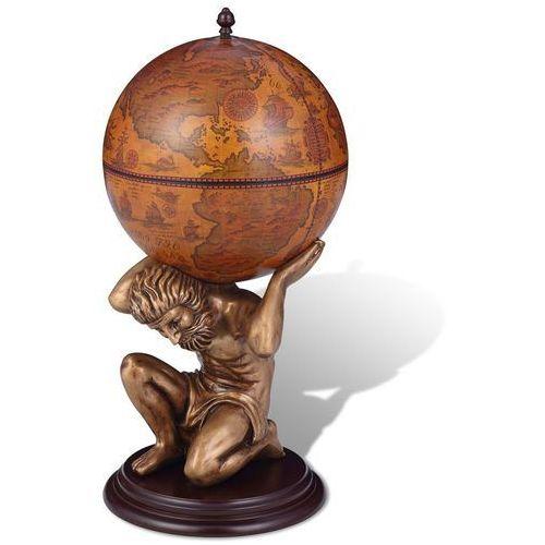 globobar ze wspornikiem w formie atlasa, 42 x 42 x 85 cm, marki Vidaxl