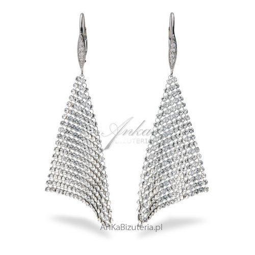 Kolczyki swarovski elegance marki Anka biżuteria
