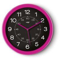 Zegar ścienny CEP Pro Gloss - różowy C820G-13