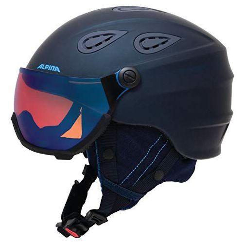 grap visier hm - kask narciarski z szybą wizjer r. 57-61 cm marki Alpina