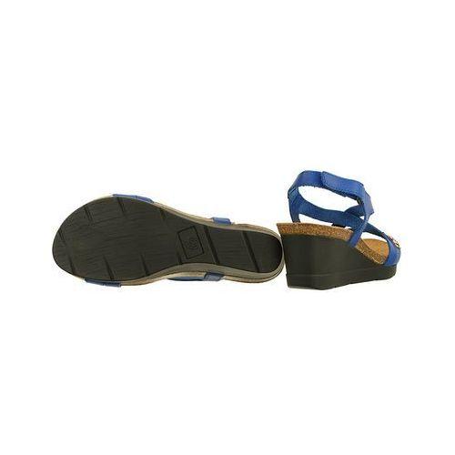 DR BRINKMANN 710806 5 blau, sandały profilaktyczne damskie Granatowy, kolor niebieski (Dr. Brinkmann)