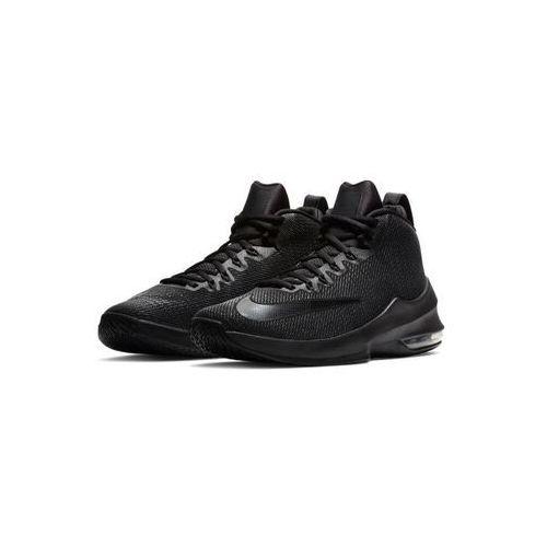 Performance air max infuriate mid obuwie do koszykówki black/anthracite, Nike