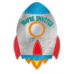 Rakiety i statki kosmiczne  Amscan PARTY WORLD